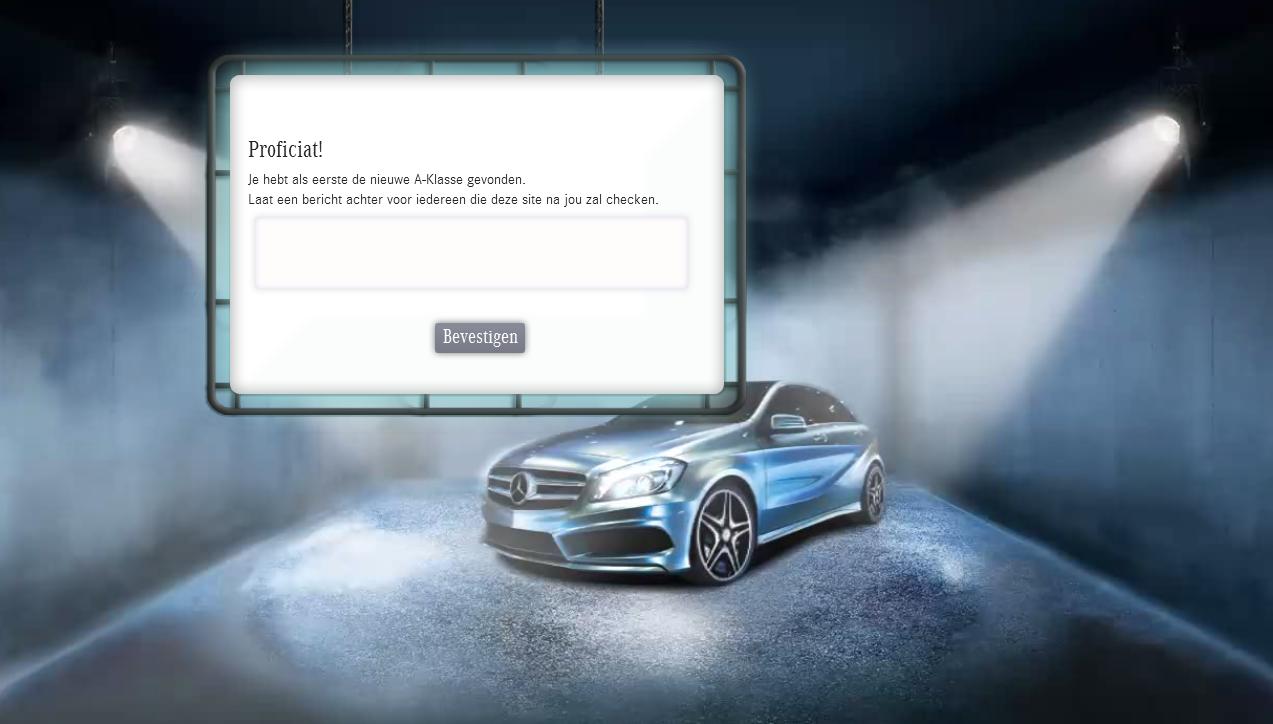 Behind the sites – Mijn zoektocht naar de Mercedes A klasse