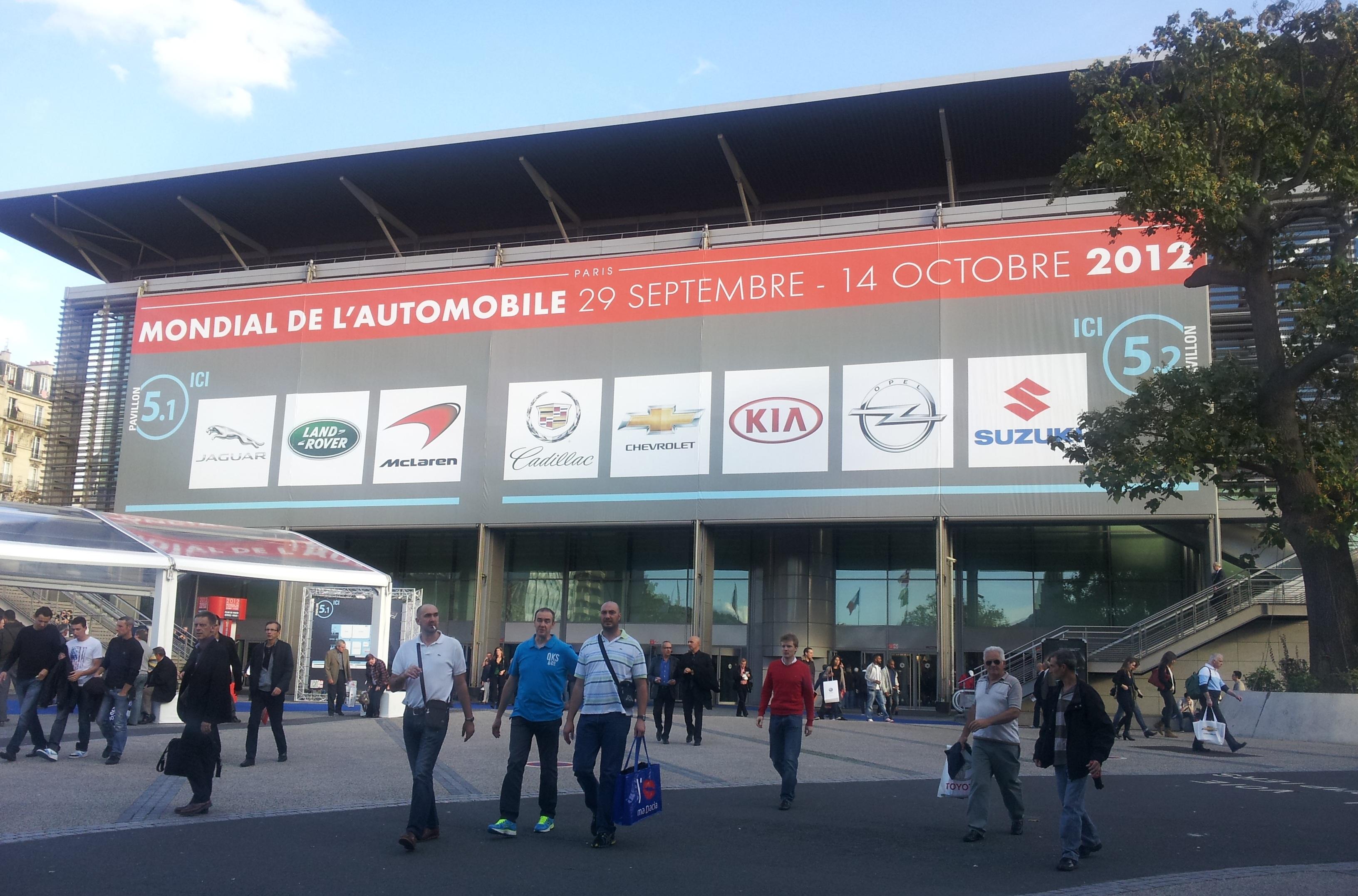 Verslag autosalon Parijs (Okt. 2012) – mijn toppers