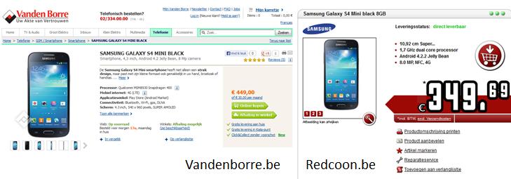 Redcoon? Dat is 87 EUR goedkoper voor identiek hetzelfde product.